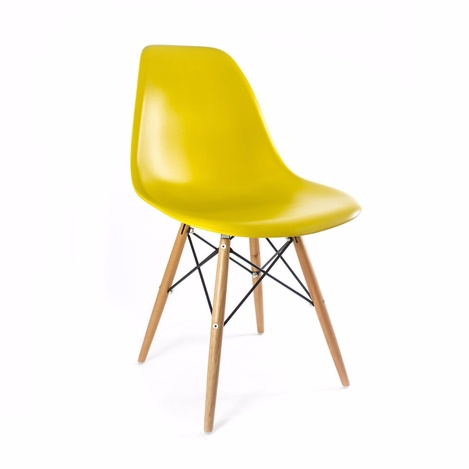 Стул Eames Yellow Wood