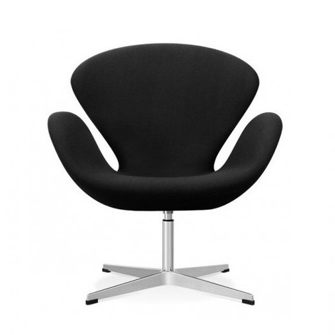 Кресло  «Swan Chair Black»